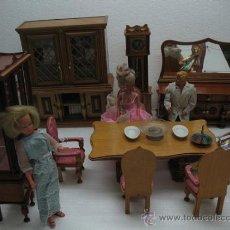 Barbie y Ken: SALON COMPLETO PARA BARBIE...... Lote 30534810