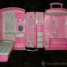 Barbie y Ken: DORMITORIO MOCHILA DE BARBIE. Lote 30794518