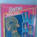 Barbie y Ken: BARBIE MATTEL ,BLISTER A ESTRENAR MODA JEANS .REF:1688 ;MODELO MISSISSIPI ,AÑOS 80.¡OCASION!. Lote 31164812