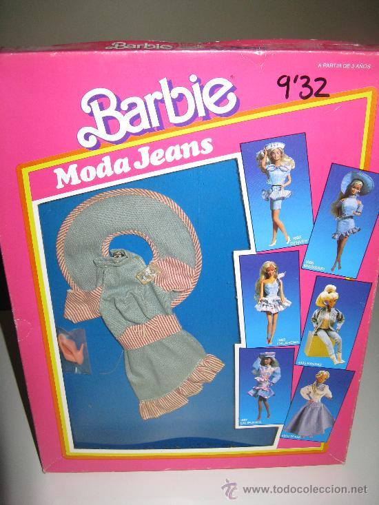BARBIE MODA JEANS DE MATTEL ESPAÑA (Juguetes - Muñeca Extranjera Moderna - Barbie y Ken - Vestidos y Accesorios)