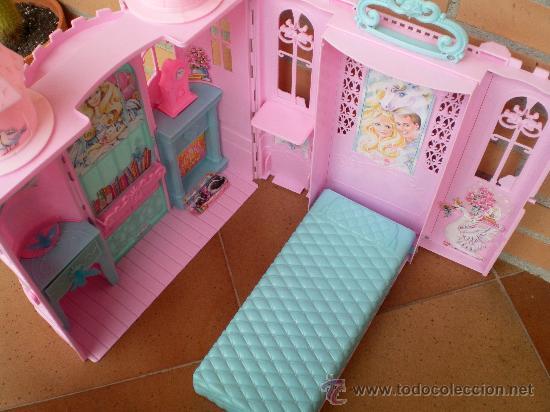 Barbie y Ken: Casa palacio princesa Barbie, Mattel 2003 - Foto 4 - 32668987