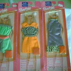 Barbie y Ken: LOTE DE TRES VESTIDOS DE BARBIE. Lote 89092823