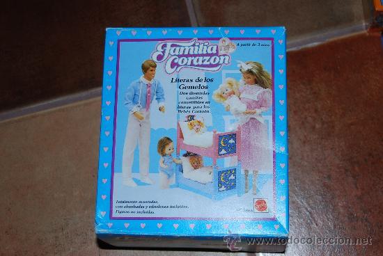 Familia Corazón Litera De Los Gemelos Rara Comprar Barbie Y