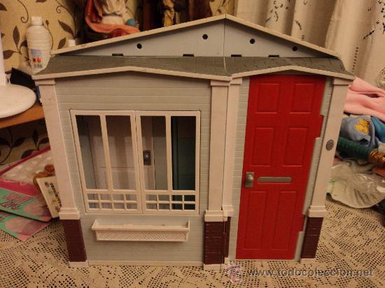 Casa de mu ecas de mattel 2005 comprar barbie y ken - Accesorios para casa de munecas ...