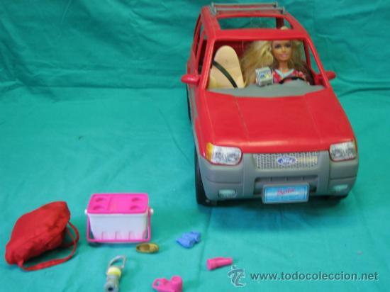 Barbie y Ken: Muñeca Barbie con coche - Foto 7 - 56859650