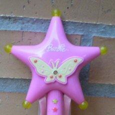 Barbie y Ken: VARITA MÁGICA DE BARBIE ORIGINAL, CON LUCES Y SONIDOS, MATTEL 2005. Lote 33563490