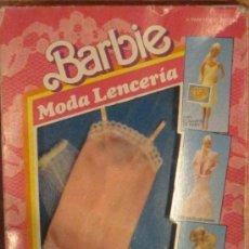 Barbie y Ken: BARBIE MODA LENCERÍA MATTEL AÑO 1988. Lote 33610467