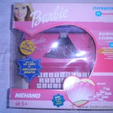 Barbie y Ken: MAQUINA DE ESCRIBIR BARBIE DE MEHANO. Lote 88986354