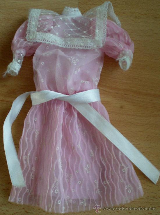 VESTIDO BARBIE SPAIN ORIGINAL CONGOST (Juguetes - Muñeca Extranjera Moderna - Barbie y Ken - Vestidos y Accesorios)