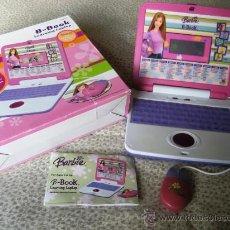 Barbie y Ken: ORDENADOR DE BARBIE EN INGLÉS 50 JUEGOS, TUTORIALES Y ACTIVIDADES IMPECABLE. B-BOOK LEARNING LAPTOP. Lote 46532840