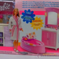 Barbie e Ken: BARBIE BAÑO DE MODA.MATTEL AÑO 2002.NUEVO EN CAJA.. Lote 181418888