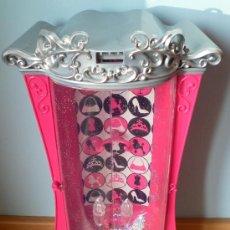 Barbie y Ken: CAJA ARMARIO PURPURINA BARBIE ORIGINAL. Lote 34848262