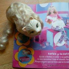 Barbie y Ken: GATO PIS PIS DE BARBIE ORIGINAL MATTEL AÑO 2000. Lote 103098872