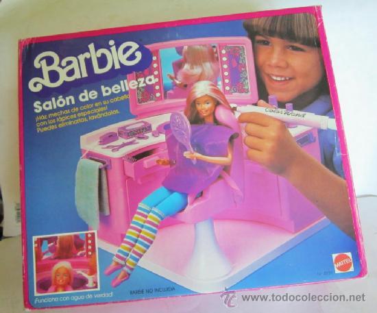 Barbie salon de belleza de mattel en caja cc comprar for Accesorios para salon de belleza