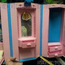 Barbie y Ken: MALETIN MALETA CASA DORMITORIO BARBIE AÑO 1981. Lote 36823149