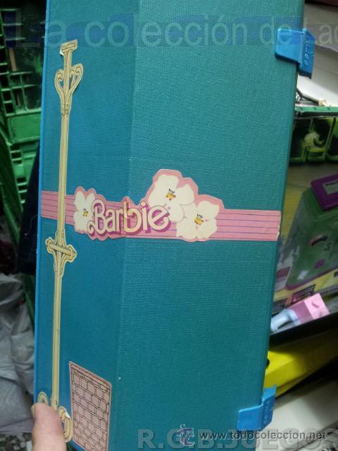 Barbie y Ken: MALETIN MALETA CASA DORMITORIO BARBIE AÑO 1981 - Foto 2 - 36823149