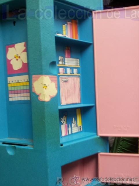 Barbie y Ken: MALETIN MALETA CASA DORMITORIO BARBIE AÑO 1981 - Foto 4 - 36823149