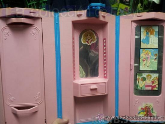 Barbie y Ken: MALETIN MALETA CASA DORMITORIO BARBIE AÑO 1981 - Foto 7 - 36823149