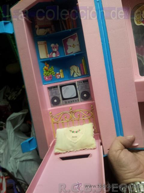 Barbie y Ken: MALETIN MALETA CASA DORMITORIO BARBIE AÑO 1981 - Foto 8 - 36823149