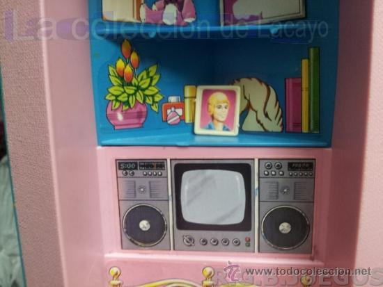Barbie y Ken: MALETIN MALETA CASA DORMITORIO BARBIE AÑO 1981 - Foto 10 - 36823149