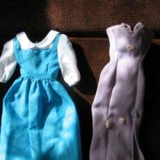 Barbie y Ken: 2 VESTIDOS ORIGINALES DE BARBIE. Lote 37351316
