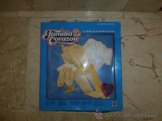 CONJUNTO FAMILIA CORAZON, REF PETO NUM 9595, 1986 MATTEL, 111-1 (Juguetes - Muñeca Extranjera Moderna - Barbie y Ken - Vestidos y Accesorios)