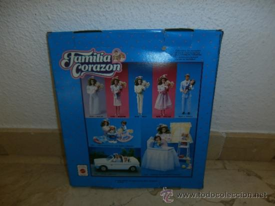 Barbie y Ken: CONJUNTO FAMILIA CORAZON, REF PETO NUM 9595, 1986 MATTEL, 111-1 - Foto 4 - 37654588