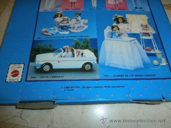 Barbie y Ken: CONJUNTO FAMILIA CORAZON, REF PETO NUM 9595, 1986 MATTEL, 111-1 - Foto 2 - 37654588