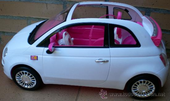 Coche Original 500 Fiat 37687784 Barbie Vendido Venta En Directa uPwiTlkZOX