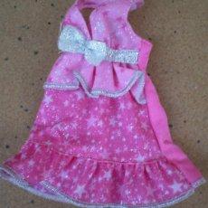 Barbie y Ken: VESTIDO ROSA BARBIE ORIGINAL. Lote 38242679