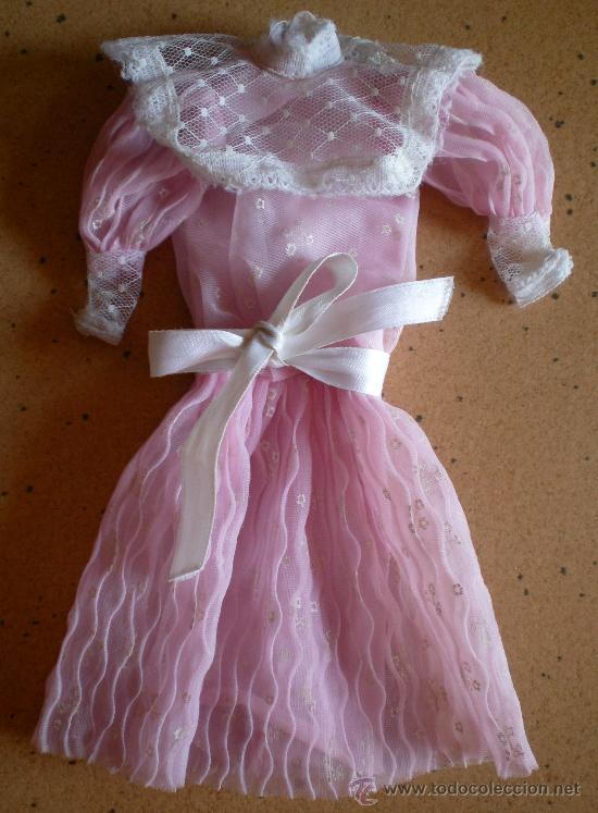VESTIDO BARBIE ORIGINAL SPAIN CONGOST (Juguetes - Muñeca Extranjera Moderna - Barbie y Ken - Vestidos y Accesorios)