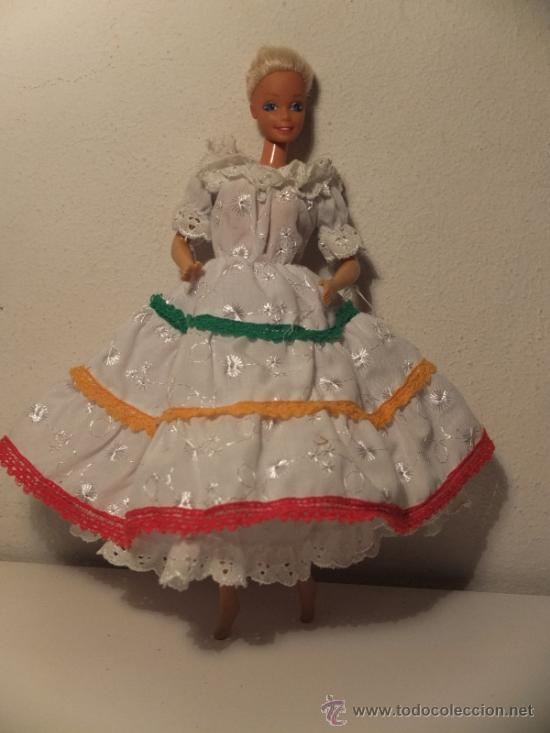 Barbie Traje O Vestido Tipico Mexico O De Mejic Sold