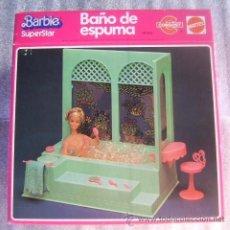 Barbie y Ken: BAÑO DE ESPUMA BARBIE SUPERSTAR CONGOST 1978. Lote 39420398