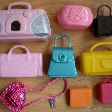 Barbie y Ken: LOTE ACCESORIOS BARBIE, BOLSOS. Lote 40834143