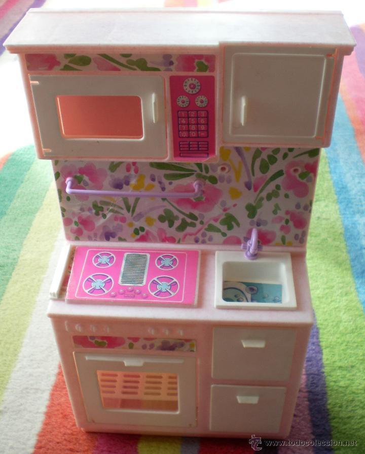 Muebles Barbie Original Mattel Cocina Armario Sold Through