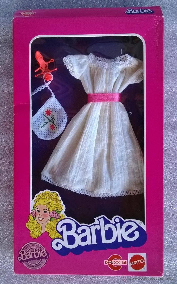 BARBIE MODELO MARBELLA CONGOST-MATTEL 1983 (Juguetes - Muñeca Extranjera Moderna - Barbie y Ken - Vestidos y Accesorios)