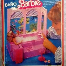 Barbie y Ken: BAÑO DE BARBIE CONGOST-MATTEL 1983. Lote 40199449