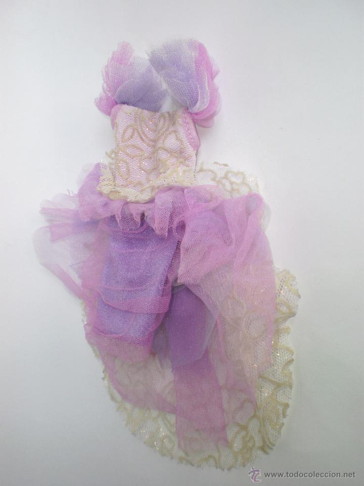 vestido de muñeca barbie color lila de fiesta, - Comprar Barbie y ...