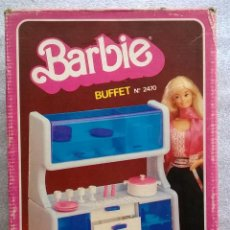 Barbie y Ken: BUFFET BARBIE CONGOST 1982. Lote 44247718