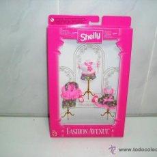 Barbie y Ken: SHELLY FASHION AVENUE 3 CONJUNTOS BARBIE MATTEL - ARTICULO NUEVO. Lote 44301981