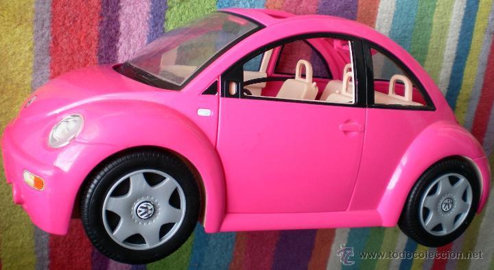 Coche Barbie Original Volkswagen Beetle Rosa Comprar Barbie Y Ken