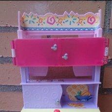 Barbie y Ken: MUEBLE ESTANTERÍA BARBIE ORIGINAL MATTEL 2001. Lote 44448714
