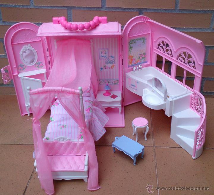 Casa maleta malet n barbie habitaci n ensue o comprar barbie y ken vestidos y accesorios en - La casa de barbie de juguete ...