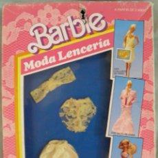 Barbie y Ken: BARBIE MODA LENCERIA 1501,MATTEL ESPAÑA 1988,A ESTRENAR. Lote 44651134