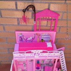 Barbie y Ken: CASA MALETA BARBIE ORIGINAL GLAMOUR GLAM. Lote 86478652