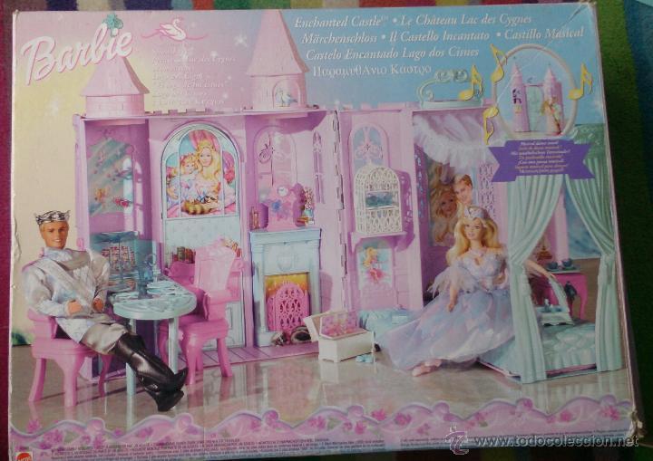 Barbie y Ken: Casa Castillo princesa cisne Barbie El Lago de los Cisnes - Foto 2 - 44918519