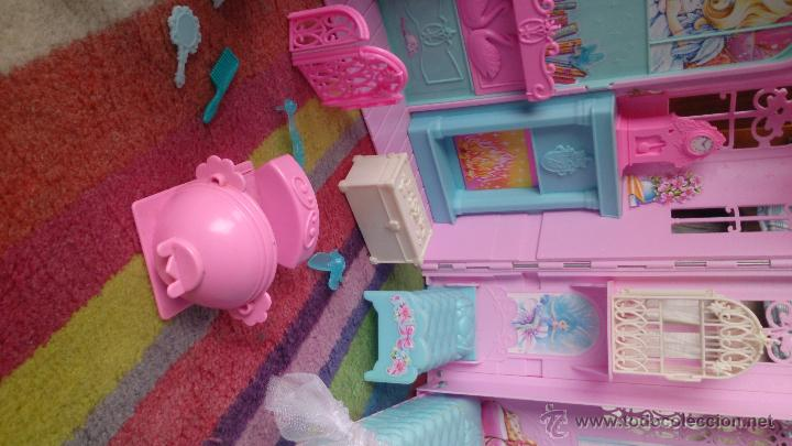 Barbie y Ken: Casa Castillo princesa cisne Barbie El Lago de los Cisnes - Foto 4 - 44918519