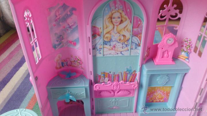 Barbie y Ken: Casa Castillo princesa cisne Barbie El Lago de los Cisnes - Foto 5 - 44918519