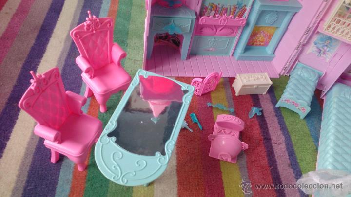 Barbie y Ken: Casa Castillo princesa cisne Barbie El Lago de los Cisnes - Foto 6 - 44918519
