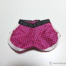 Barbie e Ken: BARBIE PANTALON CORTO TOPOS NEGRO FUCSIA. Lote 45218827